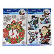EverGreen naljepnice za prozor Božicni motivi, 2 komada