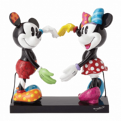 MINNIE MOUSE ROMERO BRITTO Mickey and Minnie Mouse Figurine - 4055228 Disney, 18 cm