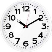 Zidni kvarcni sat EuroTime 82321 bijele boje