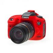 EASY COVER kucište za fotoaparat DISCOVERED za Canon EOS 7D Mark II, crvena + 2x LCD folija