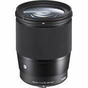 Sigma 16mm f/1.4 DC DN C Contemporary wide angle prime Lens širokokutni objektiv za Sony E-mount 402965