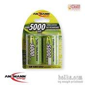 ANSMANN HR20  Punjiva baterija, D, 5000 mAh, 2/1