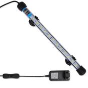 VIDAXL LED akvarijska svetilka 28 cm bela