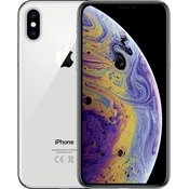 APPLE mobilni telefon iPhone Xs, 64GB, srebrn