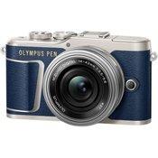 Olympus fotoaparat E-PL9 + 14-42 EZ Traveler Kit, moder