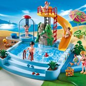 Playmobil Bazen sa Toboganom