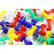 Žebljički za pluto, barvni