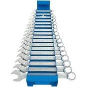 Unior garnitura kratkih viljuškasto-okastih kljuceva na metalnom stalku - 125/1MS (605539)