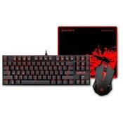 REDRAGON Combo K552-BA gaming set-tipkovnica, miška, podloga 3v1