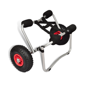 VIDAXL voziček za kajak aluminijasti