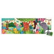 Janod Puzzle džungla panorama - 36 dijelova