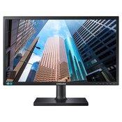 Samsung S24E650BW 60,96cm (24 Zoll) LED monitor mit PLS-Panel, DVI und Pivot Funktion