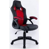 Hyle uredska stolica HY-9157, bijelo/crna