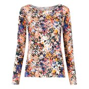 Track & Field-long sleeves T-shirt-women-Multicolour