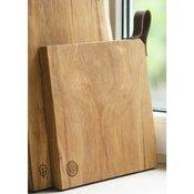 Deska iz hrastovega lesa Chop-Chop, 25x22x2 cm