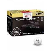 Plastične žogice GEWO Training Club 40+ **-72 žogic-1B kvaliteta