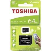 Memorijska kartica toshiba microsd 64gb cl.10 m203 exceria uhs1 100mb/s
