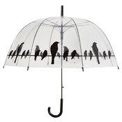 Esschert Design prozoren dežnik z motivom ptic na žici TP166