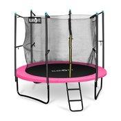 KLARFIT trampolin Rocketboy 250, 250 cm, rozi