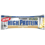 Low Carb High Protein Bar 50 g Weider latte macchiato