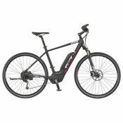KTM Elektro cross bicikl Crna 56 Elopeak CR9