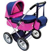 Bino 82911 otroški voziček za lutke s torbo