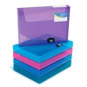 Škatla za dokumente A4 /40 PP  sortirane barve Rapesco 1048
