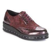 MetamorfOse ženski čevlji Derby DAMERET, rdeči