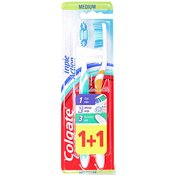 Colgate Triple Action Medium četkica za zube 1+1gratis