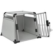 vidaXL Transporter za Pse Aluminijum L