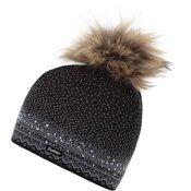 Eisbär Yaelle Fur Crystal Womens Black/Grey