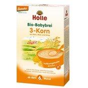 HOLLE bio 3-zrna kaša brez glutena po 6. mesecu, 250g