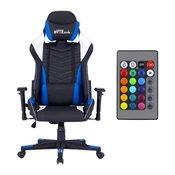 BYTEZONE Winner gamerski stol z LED osvetlitvijo