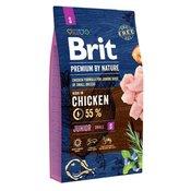 Brit hrana za pasje mladiče Premium by Nature Junior S, 8 kg