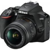 NIKON fotoaparat D3500 + AF-P 18-55 VR, DSLR VBA550K001
