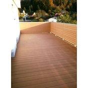 WPC ploca za terase Bambus 4000 x 150 x 25 mm, smeda