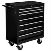 voziček za orodje 7 predalov črna