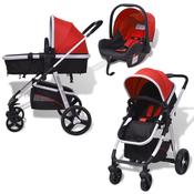 VIDAXL aluminijasti otroški voziček