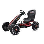 Karting - Formula Abarth na pedale crna sa mekim gumama