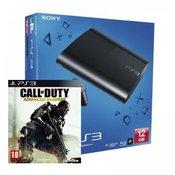 SONY konzola playstation 3 (12GB) + PS3 Call of Duty Advanced Wafare