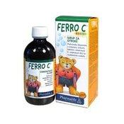 PHARMALIFE Ferro C BIMBI-sirup, prehransko dopolnilo-Pharmalife, 200ml