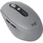 LOGITECH bežični miš M590 Multi-Device Silent (Sivi) - 910-005198 Optički, 2.4GHz, 1000dpi, 7