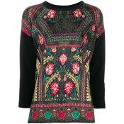 Etro - all-over print jumper - women - Black