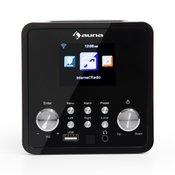 AUNA internetni radio IR-120, črn