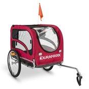 DURAMAXX King Rex, 250l, pseca prikolica za bicikl, celicne cijevi, 40 kg