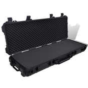 VIDAXL vodoodporni plastični kovček za shranjevanje in prenašanje pištole