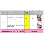 PANASONIC paket baterije + TELEFON