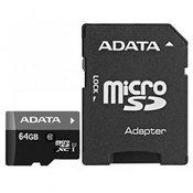 ADATA MEM SD MICRO 64GB HC Class 10 UHS + 1 ad AD