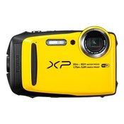 Fujifilm Digitalni fotoaparat Fujifilm XP120 16.4 mio. pikslov, optični zoom: 5 x rumen, odporen proti zmrzali, odporen na udarce, vodood