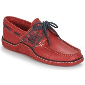 TBS moški mokasini & jadralni čevlji GLOBEK, rdeči